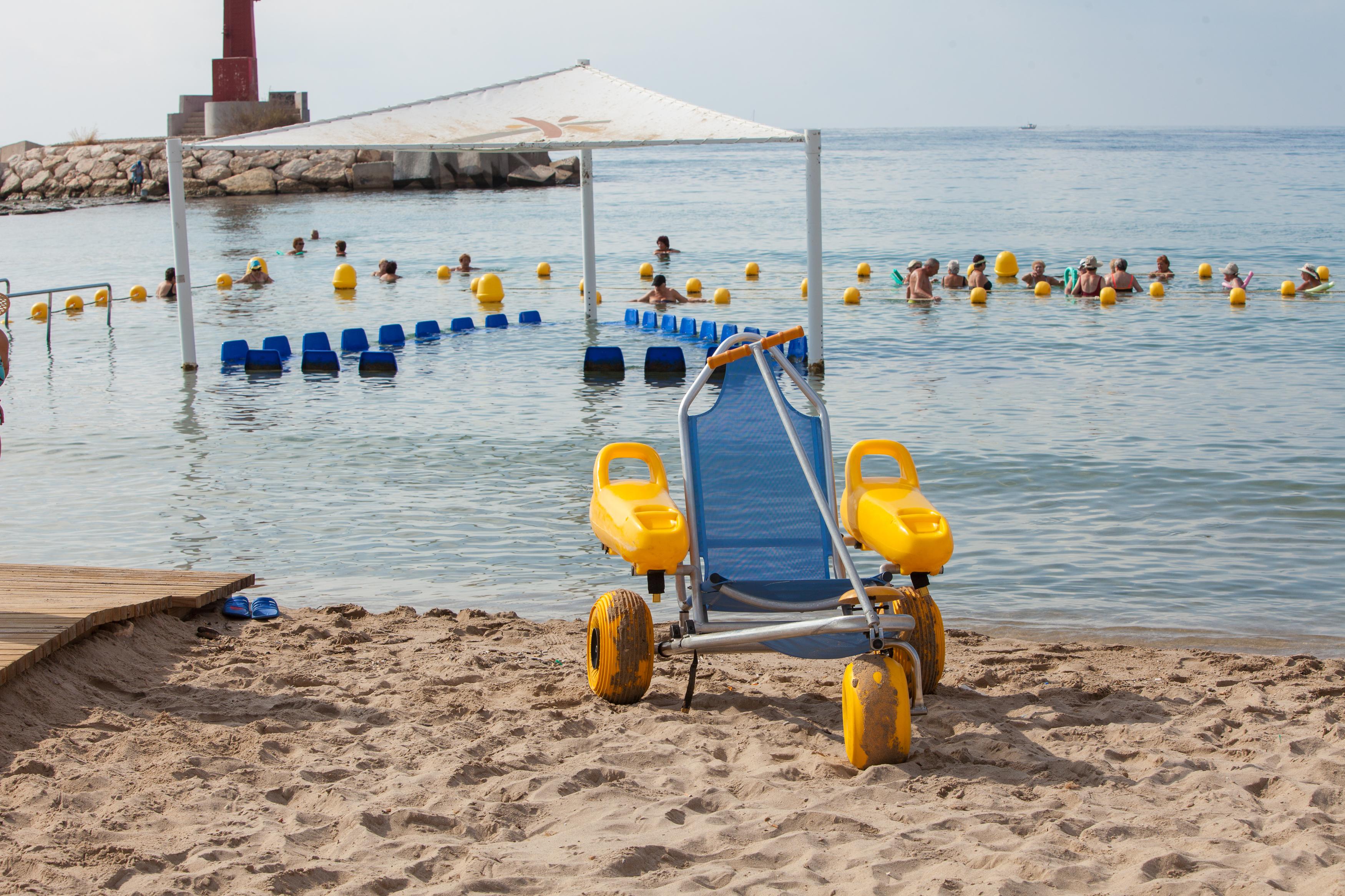 playa adaptada