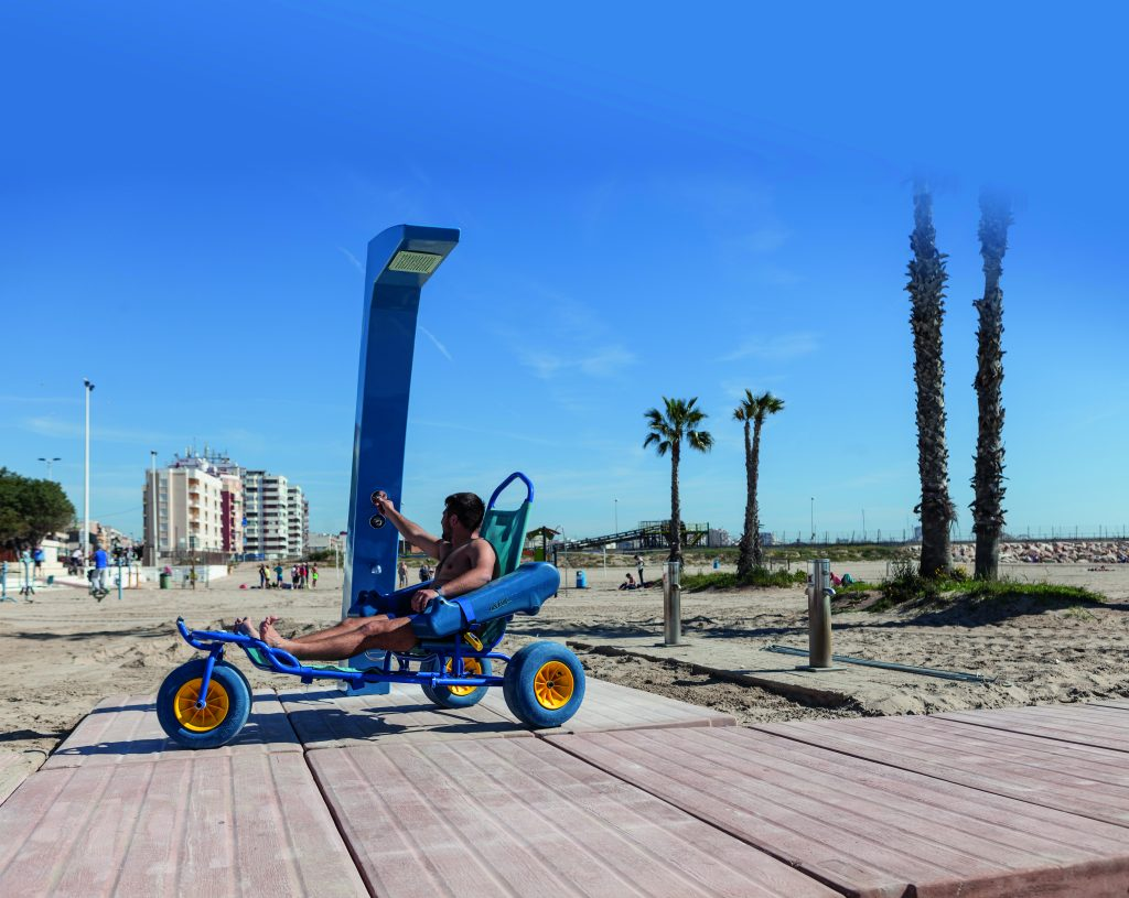 Tipos de mobiliario urbano para playas 6