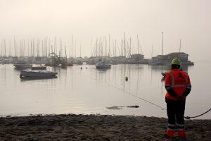 Reflotamiento de embarcaciones hundidas en el Mar Menor 10