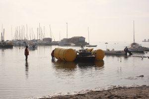 Reflotamiento de embarcaciones hundidas en el Mar Menor 8