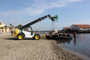 Reflotamiento de embarcaciones hundidas en el Mar Menor 9