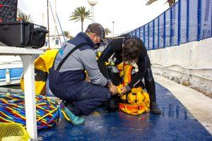 Reflotamiento de embarcaciones hundidas en el Mar Menor 7