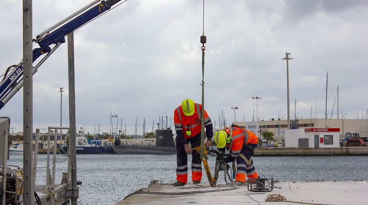 Demolición muelle de pescadores Torrevieja 3