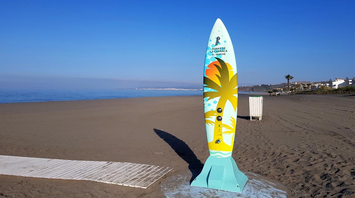 Duchas de Playa Surf en Torrox 1