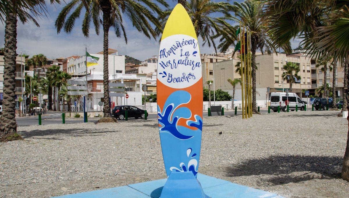 Ducha de Playa Surf en Almuñecar 8