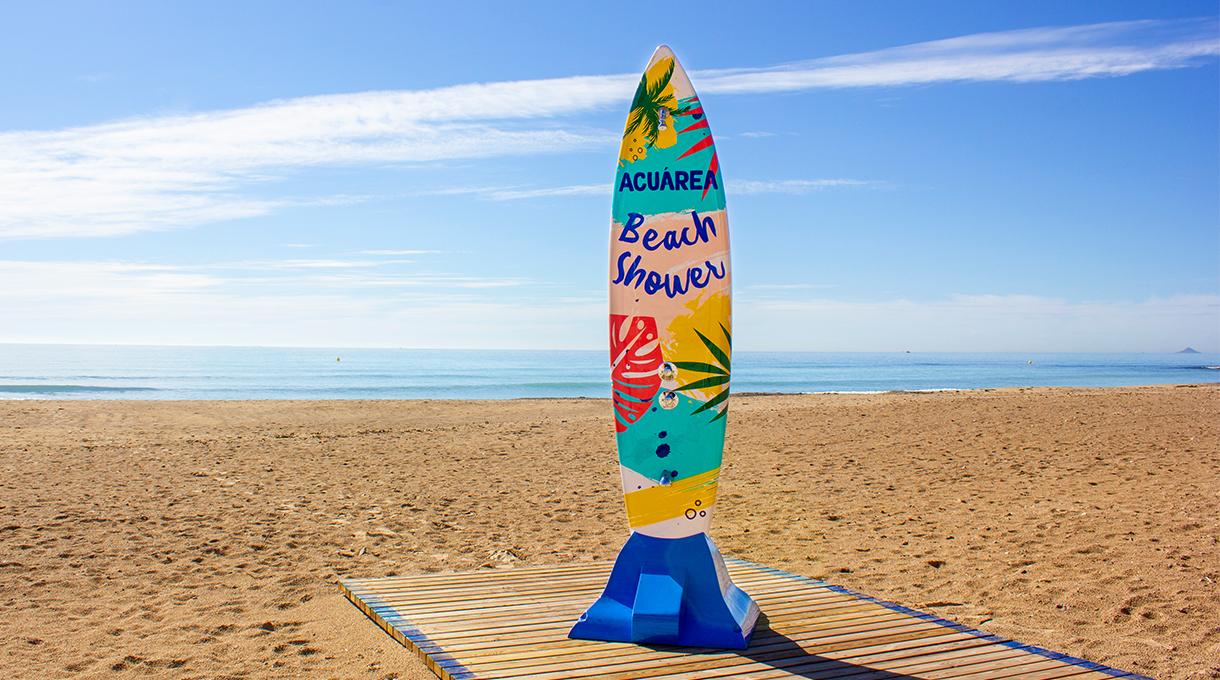 Ducha de Playa Surf 2