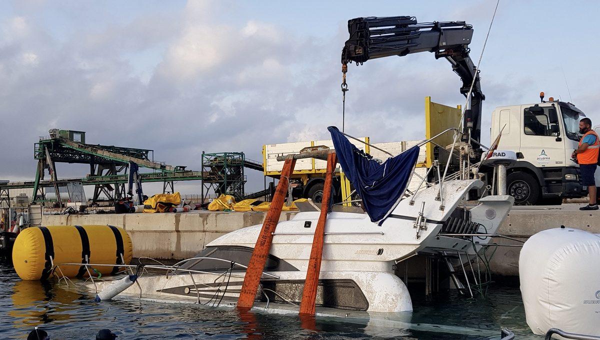 Reflotamiento barco Guardamar 1